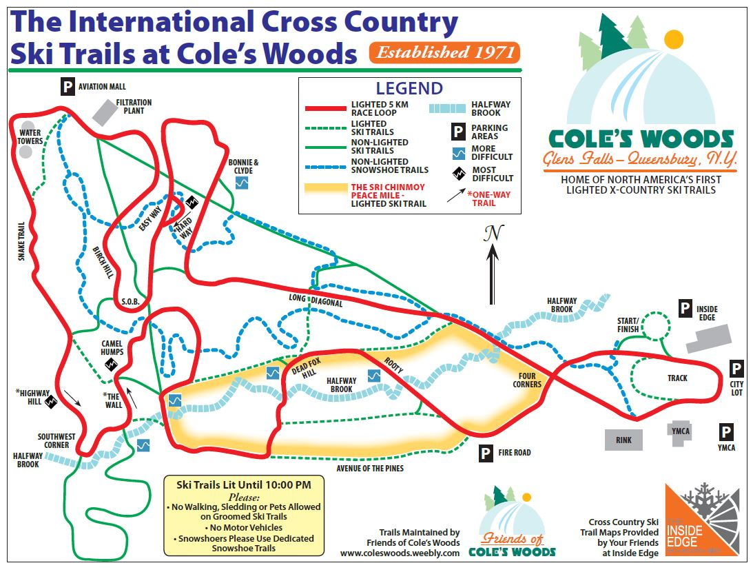 Coles Woods Map