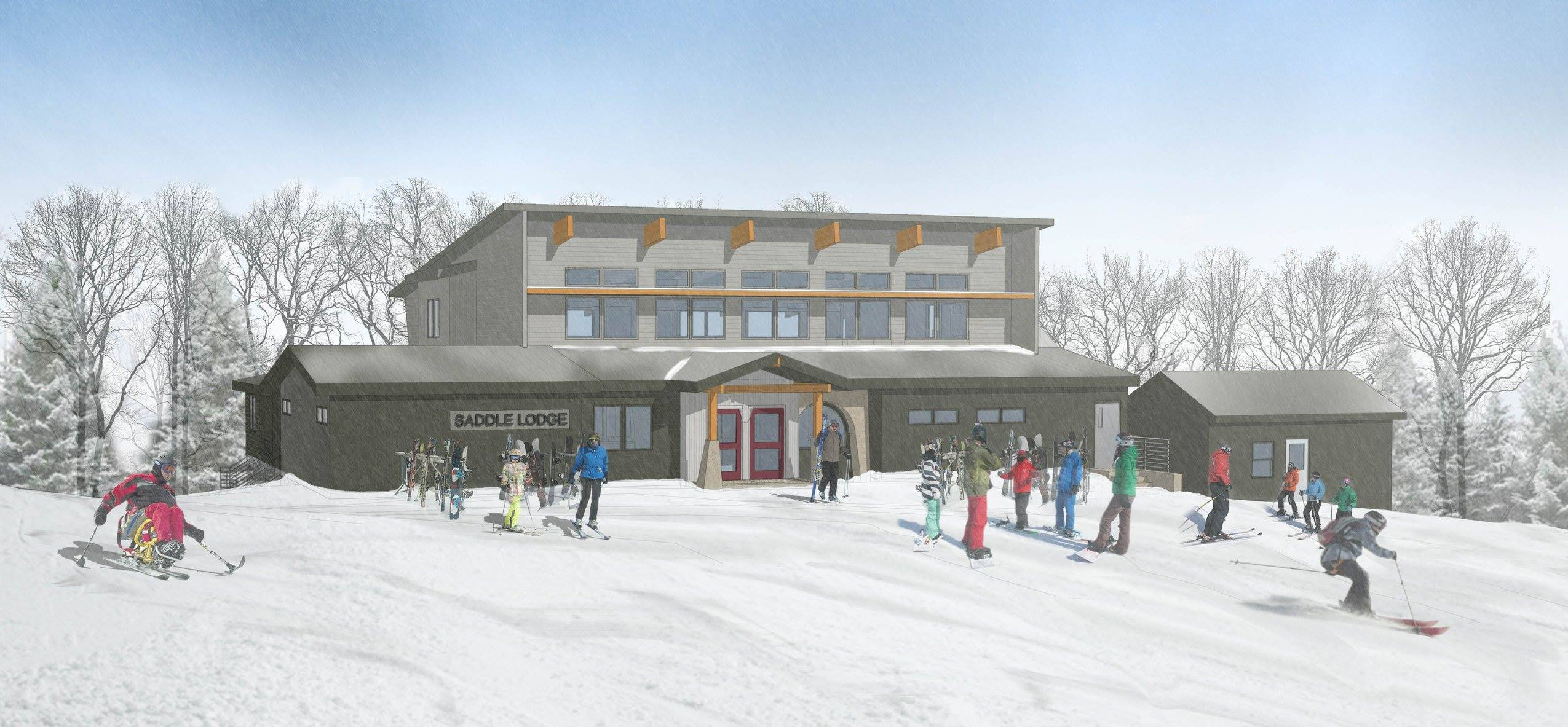 Rendering of New Saddle Lodge