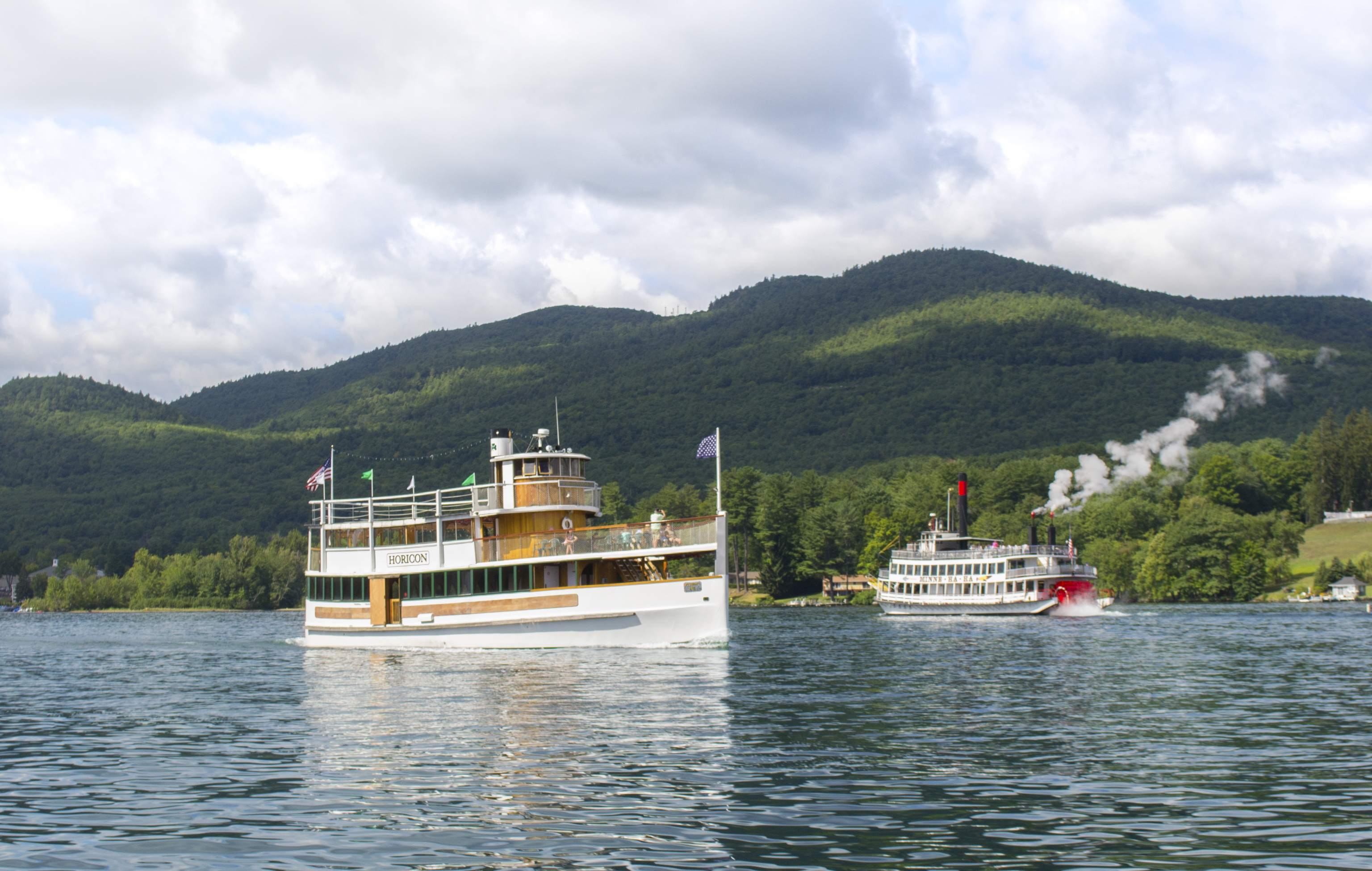 Steamboats on the Lake