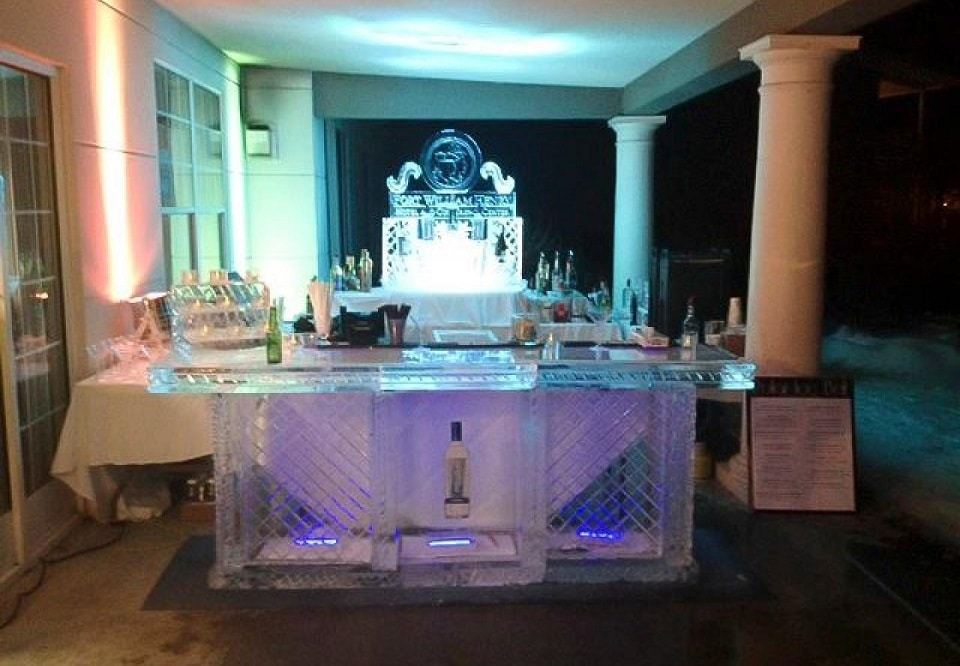 Polar Ice Bar at Fort William Henry Hotel & Conference Center